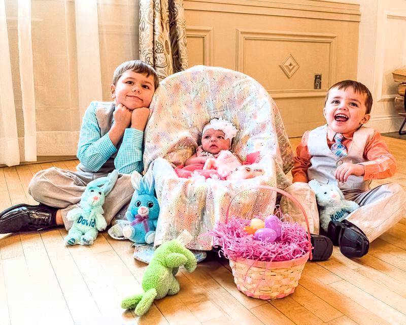 David & Liz's kids
