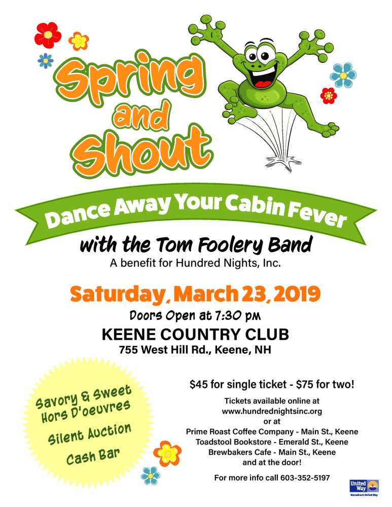 Spring and Shout Flyer