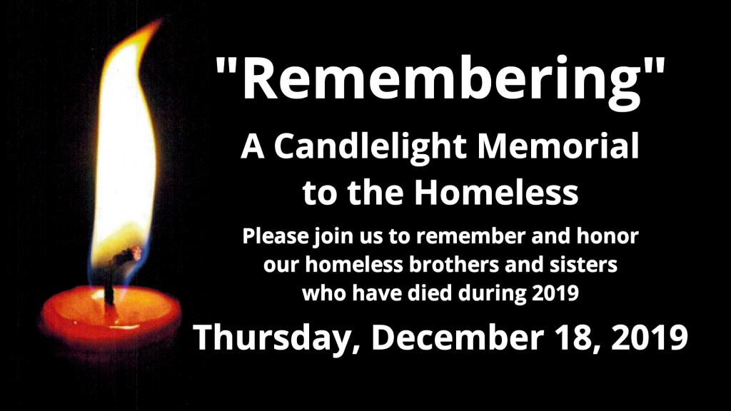 Candelight Memorial Vigil