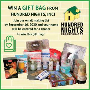 Gift bag giveaway